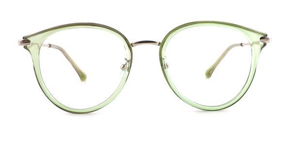 947 Jen Oval green glasses