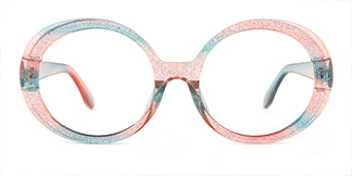 95010 hebe Oval multicolor glasses