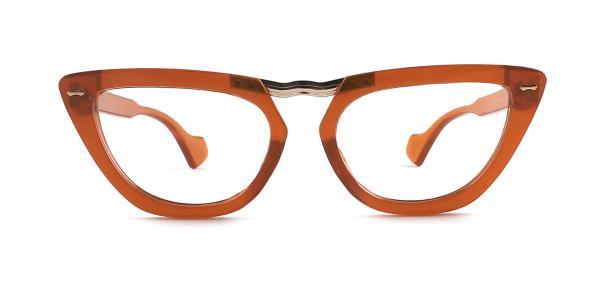 95061 Payton Cateye orange glasses