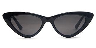 95112 Rachel Cateye black glasses
