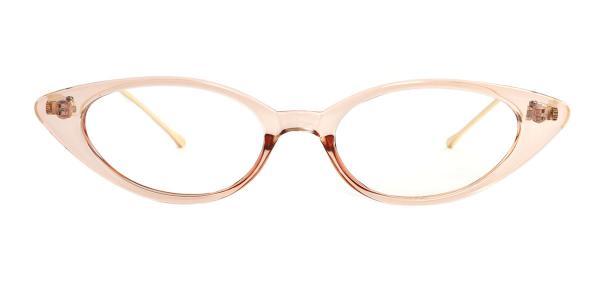 95115 Abia Cateye red glasses