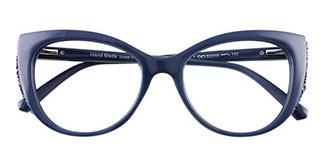 95141 Mathilda Cateye,Butterfly blue glasses