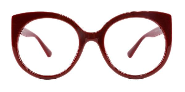 95147 Lamar Cateye red glasses
