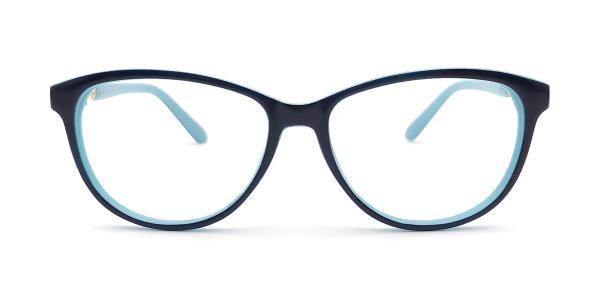 95161 Lakesha Oval blue glasses