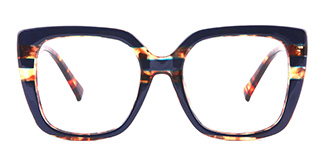 95165 Dixie Rectangle blue glasses