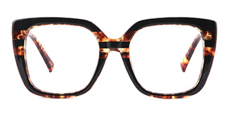95165 Dixie Rectangle tortoiseshell glasses