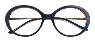 95186 Jessica Oval blue glasses