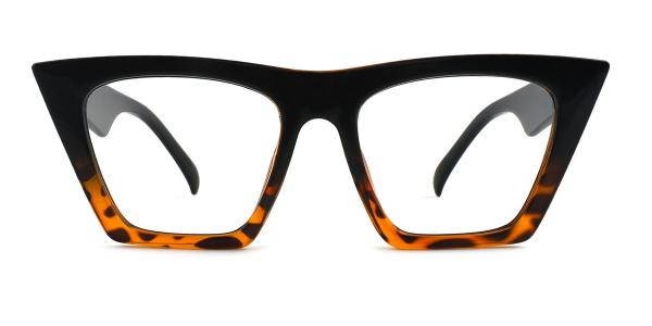 9522 Bella Belle Cateye red glasses