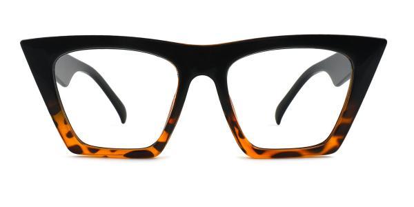 9522 Bella Belle Cateye red glasses