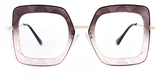 95255 Teresa Geometric purple glasses