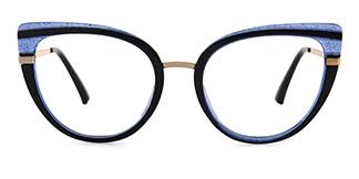95282 Cadence Cateye grey glasses