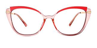 95285 Chandrika Cateye pink glasses
