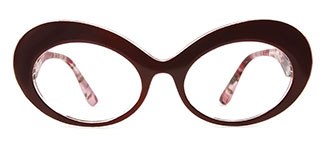 95522 Finnguala Oval red glasses
