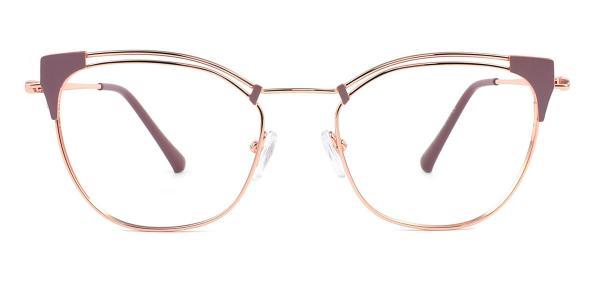 95537 Cheyenne Cateye brown glasses