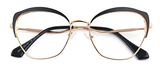 95546 Suzanne Cateye,Butterfly black glasses