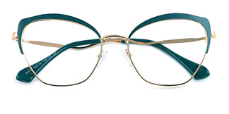 95546 Suzanne Cateye,Butterfly green glasses