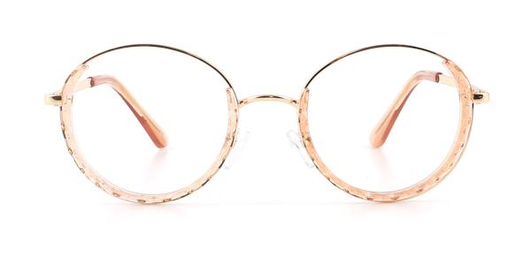 95574 Kamaria Round brown glasses
