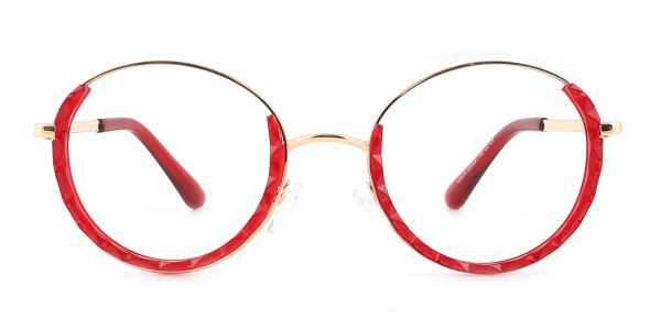 95574 Kamaria Oval red glasses