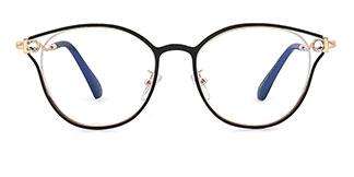 95612 Ardyce Cateye black glasses