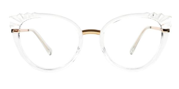 95701 Jacey Cateye clear glasses