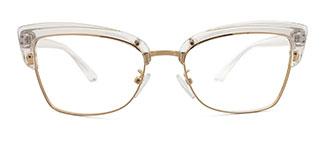 95711 Hadenna Cateye clear glasses