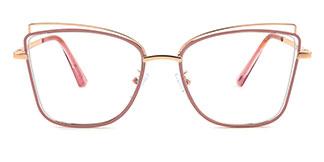 95787 Xacharia Cateye pink glasses