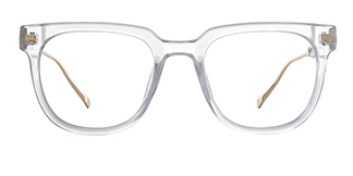 95837 Amberann Rectangle clear glasses