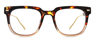 95837 Amberann Rectangle tortoiseshell glasses