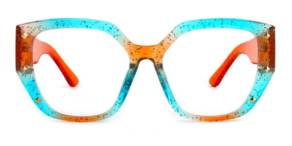 9619 Amira Geometric multicolor glasses