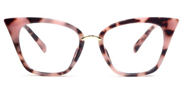 97093 Damaris Cateye pink glasses