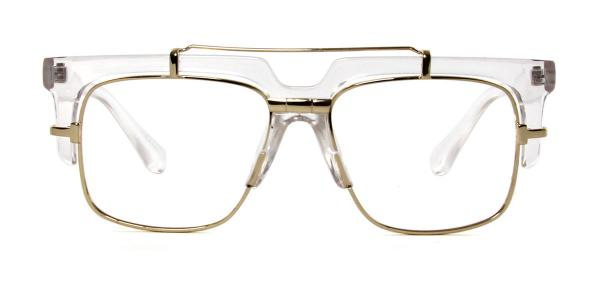 97132 Welsie Aviator clear glasses