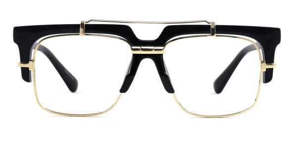 97132 Welsie Aviator black glasses