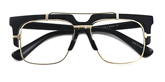 97132 Welsie Rectangle tortoiseshell glasses