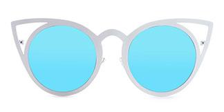 97146 cattyrella Cateye white glasses