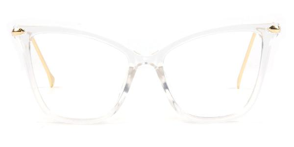 97152-1 Aaliyah Cateye clear glasses
