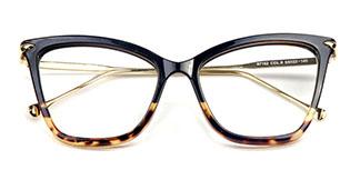 97152 Aldis Cateye,Rectangle,Butterfly tortoiseshell glasses
