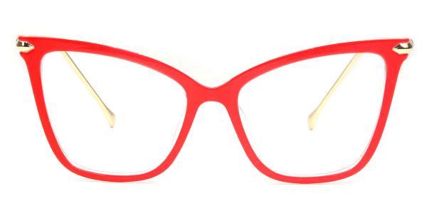 97152 Aldis Cateye,Butterfly red glasses