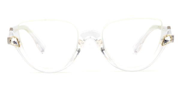 97174 Xenia Cateye,Geometric clear glasses