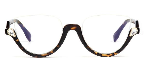 97174 Xenia Cateye tortoiseshell glasses