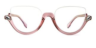 97174 Xenia Cateye pink glasses