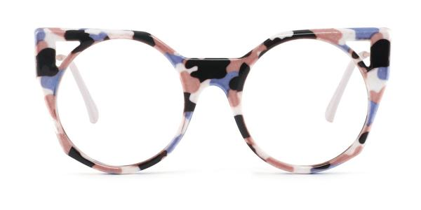 97192 Zaida Cateye red glasses