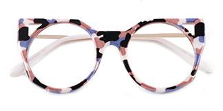 97192 Zaida Cateye red glasses