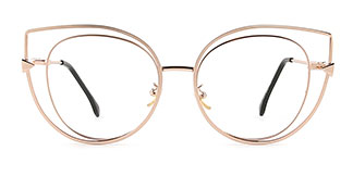 97242 Precious Cateye gold glasses