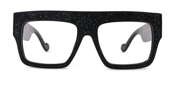 97254 Michael Aviator black glasses