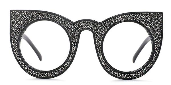 97259 Xilla Cateye black glasses