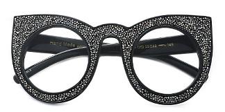 97259 Xilla Cateye black glasses