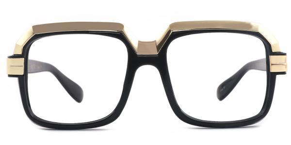 97267 Calista Rectangle black glasses