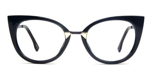 97320 Arabella Cateye black glasses