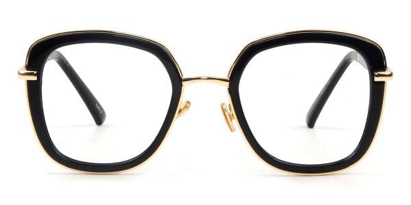 97324 Fran Rectangle tortoiseshell glasses