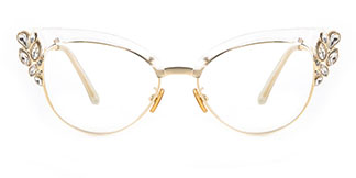 97329 Moana Cateye clear glasses